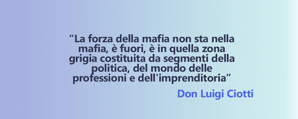 Comunità e Territorio | citazione Don Ciotti